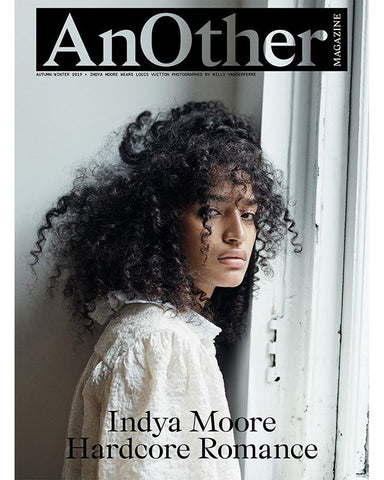ANOTHER Magazine Fall Winter 2019 INDYA MOORE by WILLY VANDERPERRE
