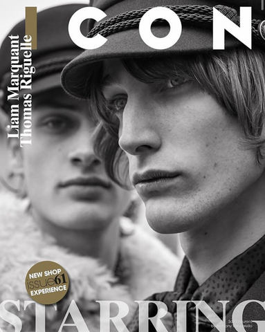 ICON Italy Magazine September 2020 LIAM MARQUANT Thomas Riguelle ISSERMANN