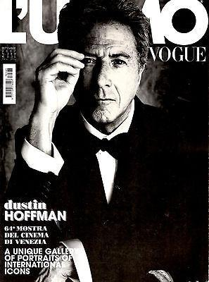 L'UOMO VOGUE Magazine September 2007 DUSTIN HOFFMAN Tim Burton KEIRA KNIGHTLEY Joe Wright