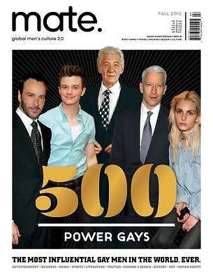 MATE Magazine Special Issue 500 Power GAY ** Andrej Pejic Tom Ford Chris Colfer