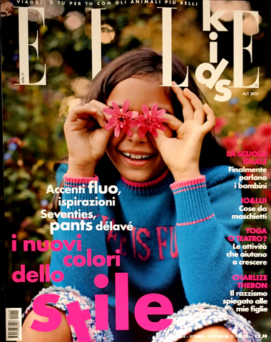 ELLE KIDS Junior Children Enfant Fashion Bambini Magazine Fall/Winter 2021