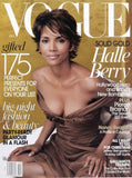 VOGUE US Magazine December 2002 HALLE BERRY Carmen Kass KAREN ELSON Pierce Brosnan