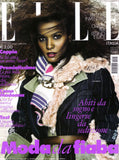 ELLE Italia Magazine January 2010 LIYA KEBEDE Clotilde Courau