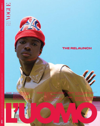 L' UOMO VOGUE Magazine July 2018 ALTON MASON The Relaunch Issue ENGLISH TEXT