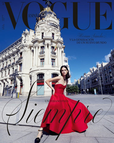 VOGUE Spain Magazine August 2020 MIRIAM SANCHEZ Hana Jirickova PAULA ANGUERA