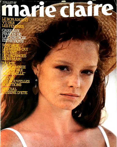 MARIE CLAIRE France Magazine July 1982 PETER LINDBERGH #359