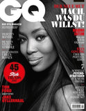GQ Germany Magazine February 2017 NAOMI CAMPBELL Ryan Gosling JAKE GYLLENHAAL