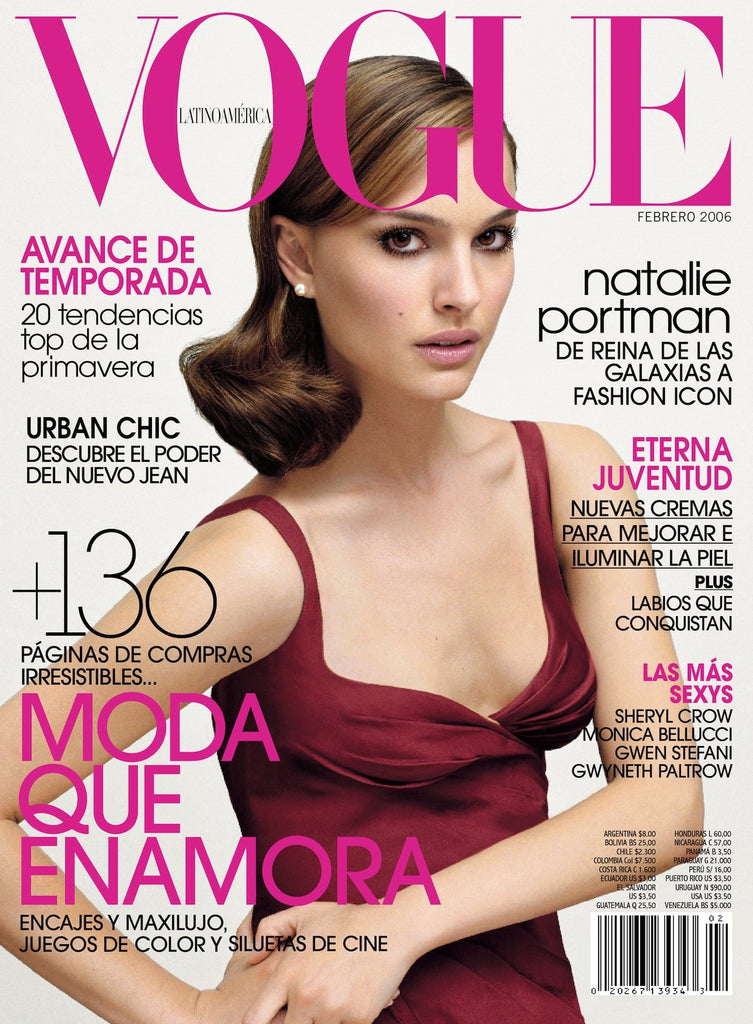 VOGUE UK Magazine October 2005 NATALIE PORTMAN Gemma Ward JESSICA STAM Freja Beha