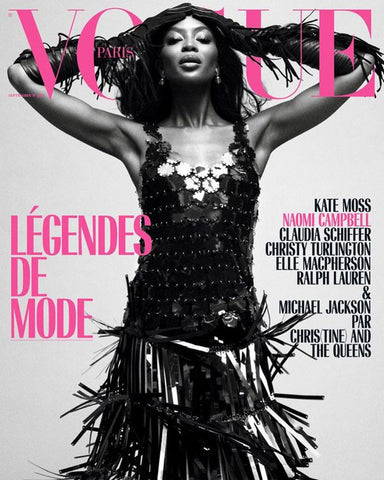 Copy of VOGUE Paris Magazine September 2018 NAOMI CAMPBELL Yasmin Le Bon ELISE CROMBEZ