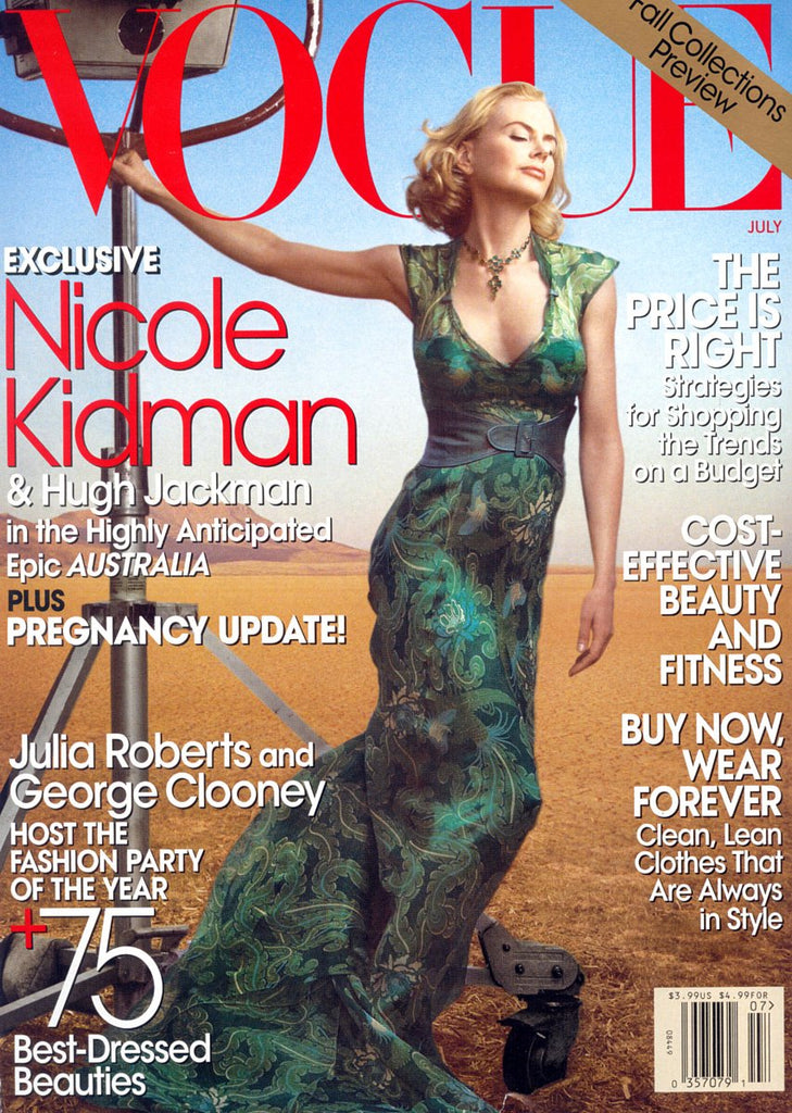 VOGUE US Magazine July 2008 NICOLE KIDMAN Daria Werbowy RAQUEL ZIMMERMANN