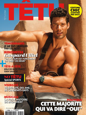 TETU Magazine September 2012 Aaron O'Connell TOM DALEY Josey Greenwell GASPARD ULLIEL