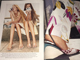 VOGUE US Magazine January 1999 JEWEL Gisele Bundchen HELMUT NEWTON Maggie Rizer