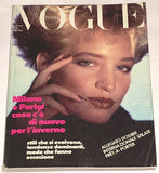 VOGUE Italia Magazine July 1984 BONNIE BERMAN Simonetta Gianfelici ELLE MACPHERSON