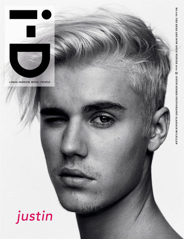iD I-D Magazine Winter 2015 JUSTIN BIEBER Lucky Blue Smith NICK JONAS Lexi Boling