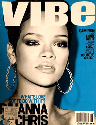 VIBE Magazine May 2009 RIHANNA Lionel Richie LMFAO Boogaloo Shrimp UGK