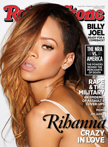 ROLLING STONE US Magazine 2014 RIHANNA by TERRY RICHARDSON