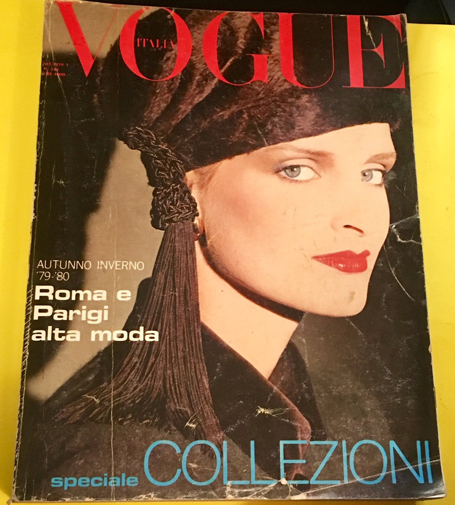 VOGUE Italia Magazine September 1979 EVA VOORHEES Lena Kansbod SPECIALE COLLEZIONI