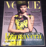 VOGUE Portugal Magazine February 2012 SARA SAMPAIO Julia Stegner DARIIA MAKAROVA