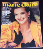 MARIE CLAIRE France Magazine December 1983 CAROLE BOUQUET Bonnie Berman ISABELLE TOWNSEND