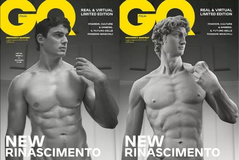 GQ Magazine Italia July 2020 Pietro Boselli 3D LENTICULAR COVER LIMITED EDITION