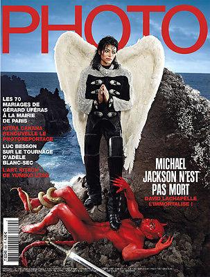 PHOTO Paris Magazine May 2010 Michael Jackson by David Lachapelle