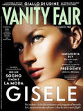 Vanity Fair Italia Magazine April 2013 GISELE BUNDCHEN Robert Downey JR ADAM DRIVER Pierre Niney