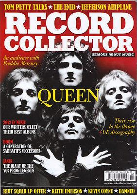RECORD COLLECTOR Magazine 410 QUEEN Tom Petty DOOM Janus THE ENID Riot Squad