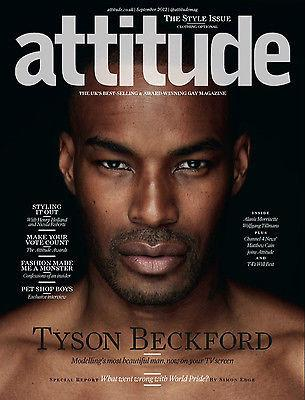 ATTITUDE Magazine September 2012 The Style Issue TYSON BECKFORD Gay int