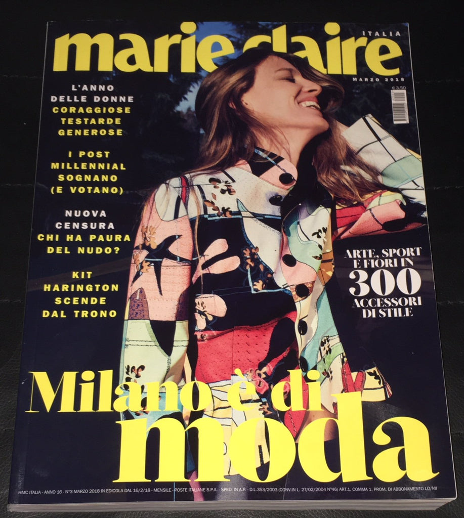 MARIE Claire Italy Magazine March 2018 NATASA VOJNOVIC Kit Harington KOTO BOLOFO