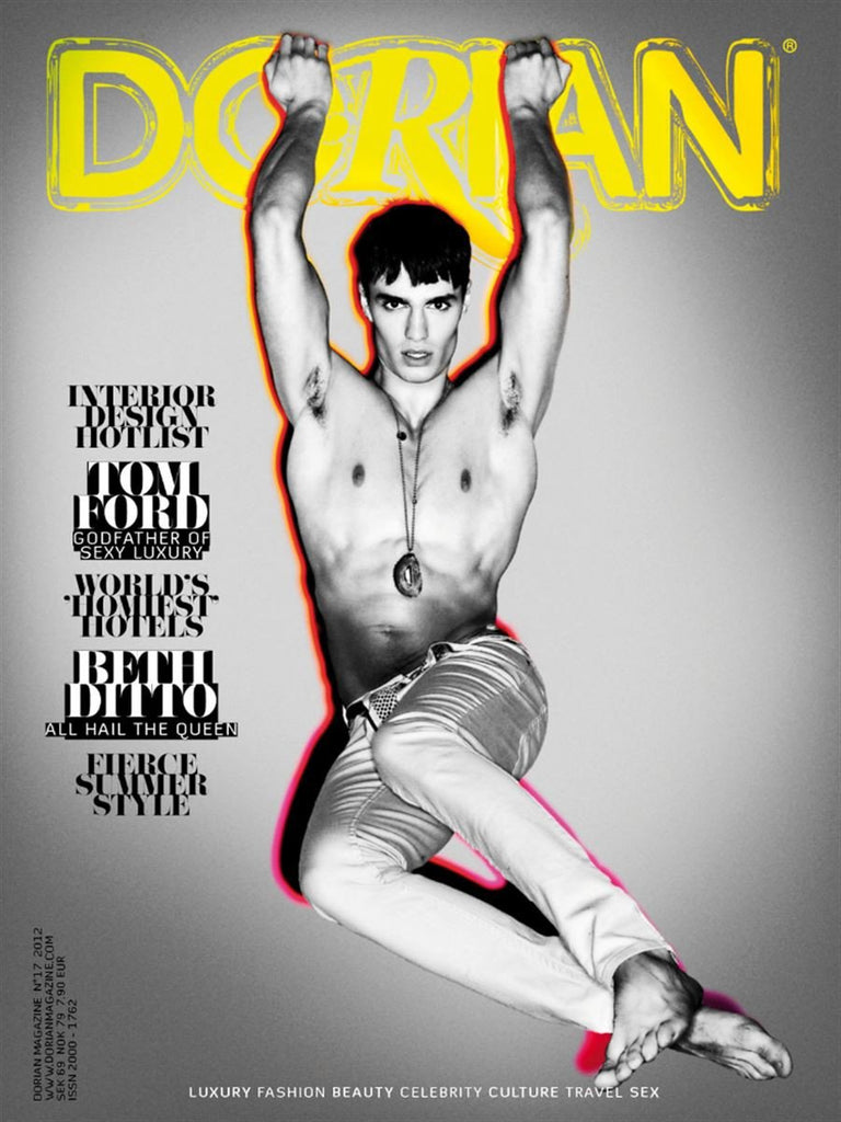 DORIAN Magazine Summer 2012 VALON KABA Barechest BETH DITTO Tom Ford GAY Int