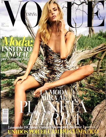VOGUE Spain Magazine July 2016 NATASHA POLY Candice Swanepoel ELSA HOSK