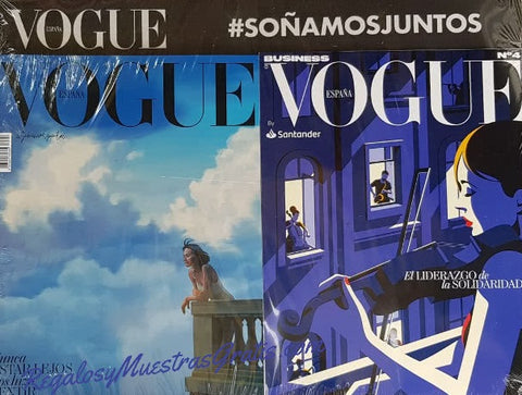 Vogue Spain Magazine May 2020 #386 Ignasi Monreal [Business suppl. included]