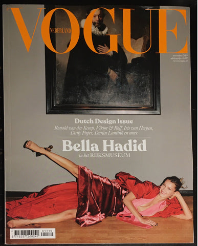 VOGUE Netherlands NL Magazine November 2019 BELLA HADID Amber Valletta