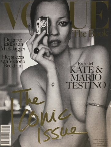 VOGUE Netherlands NL Magazine THE BOOK 2015 KATE MOSS Mick Jagger VICTORIA BECKHAM