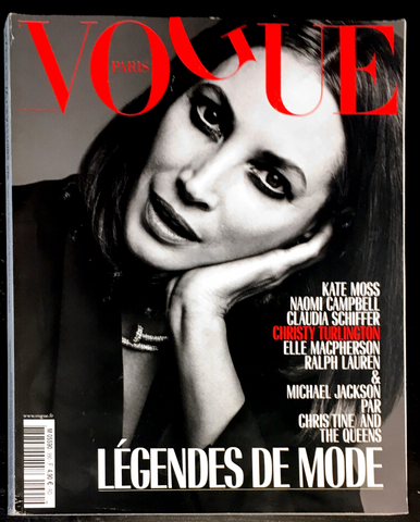 VOGUE Paris Magazine September 2018 CHRISTY TURLINGTON Yasmin Le Bon CLAUDIA SCHIFFER