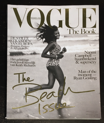 VOGUE Netherlands NL Magazine THE BOOK 2017 NAOMI CAMPBELL Ryan Gosling HANSEN
