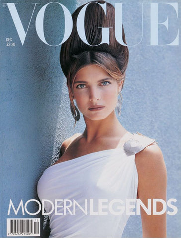 VOGUE UK Magazine December 1988 STEPHANIE SEYMOUR Karen Alexander KARA YOUNG