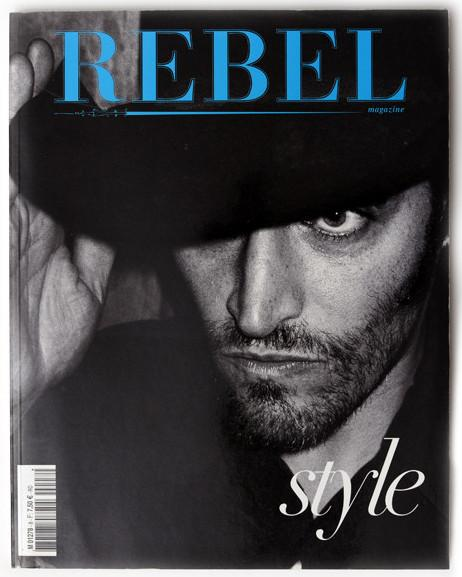 REBEL Magazine Fall/Winter 2004 VINCENT GALLO Jacques Bourboulon GUINEVERE VAN SEENUS Natasha Poly