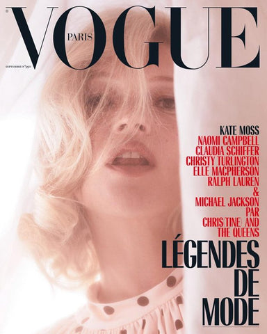 VOGUE Paris Magazine September 2018 KATE MOSS Christy Turlington CLAUDIA SCHIFFER