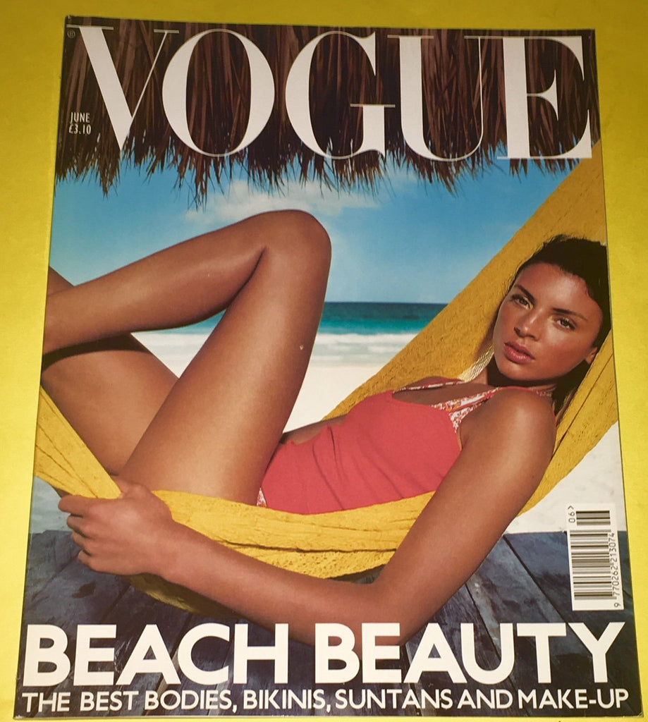 VOGUE UK Magazine June 2000 LIBERTY ROSS Harland Miller FERNANDA TAVARES Angela Lindavall