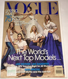 VOGUE US Magazine May 2007 HILARY RHODA Kate Moss DOUTZEN KROES Vodianova