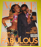 VOGUE UK Magazine October 2001 NAOMI CAMPBELL Kate Moss ANGELA LINDVALL Puff Diddy