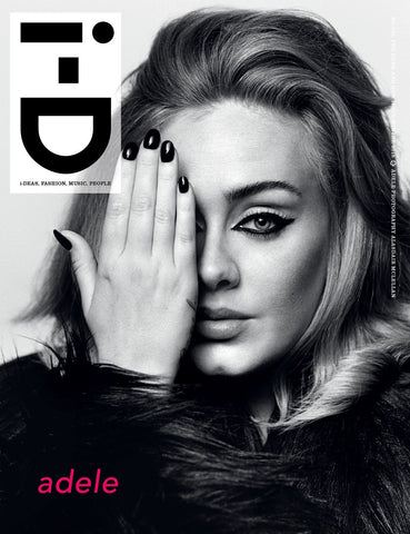 iD I-D Magazine Winter 2015 ADELE Lucky Blue Smith NICK JONAS Lexi Boling