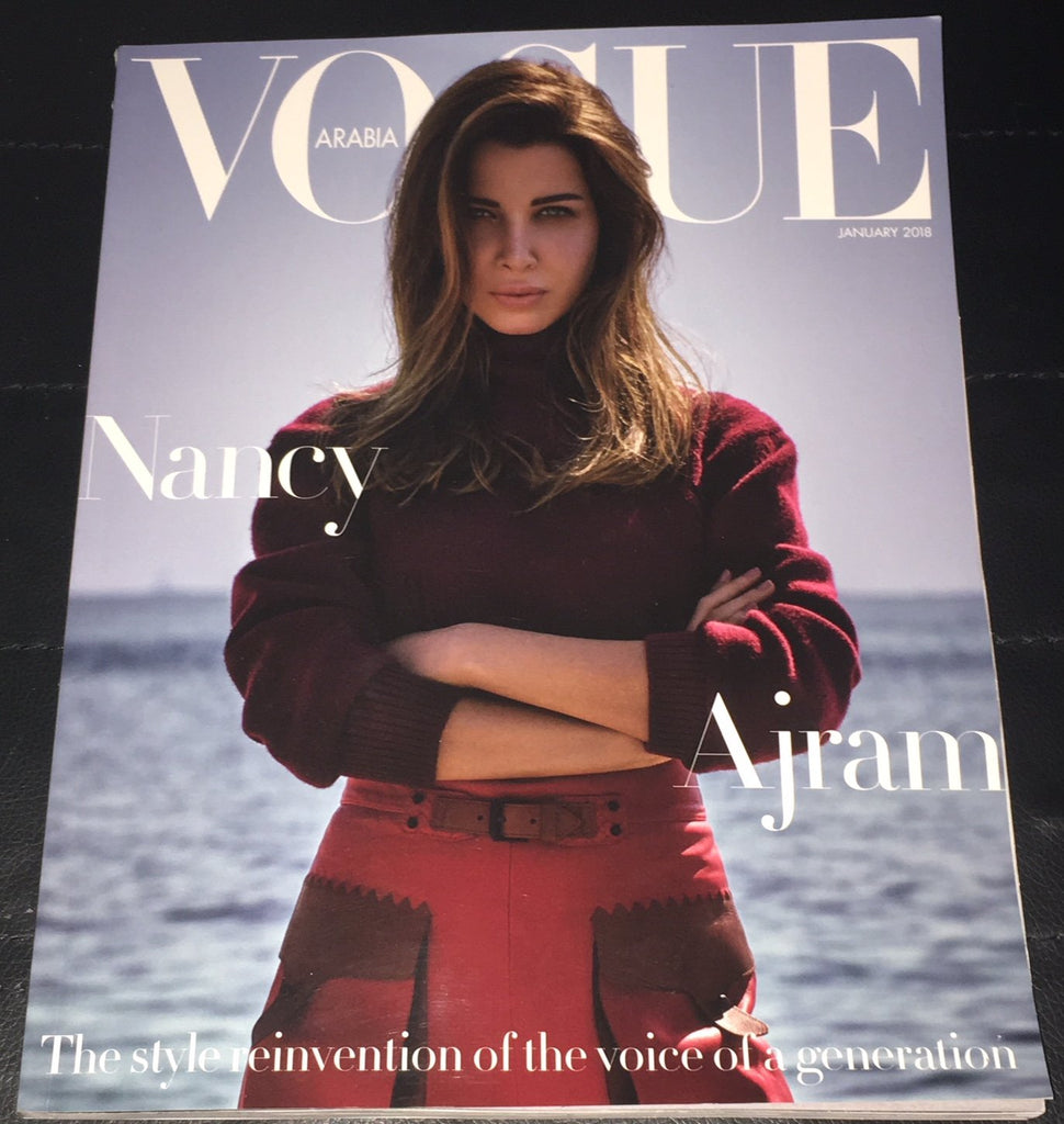 VOGUE ARABIA Magazine January 2018 NANCY AJRAM Alanna Arrington LOUISE PARKER