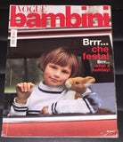 VOGUE BAMBINI Kids Children Enfant Fashion ITALIA Magazine November 2005 - magazinecult