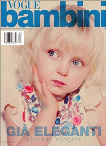 VOGUE BAMBINI Kids Children Enfant Fashion ITALIA Magazine March 2009