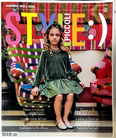STYLE Piccoli Kids Children Enfant Fashion Magazine July 2016 BRAND NEW