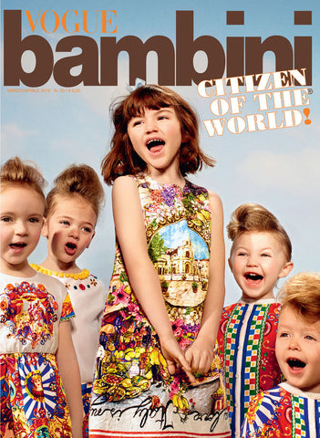 VOGUE BAMBINI Kids Children Enfant Fashion ITALIA Magazine March 2016