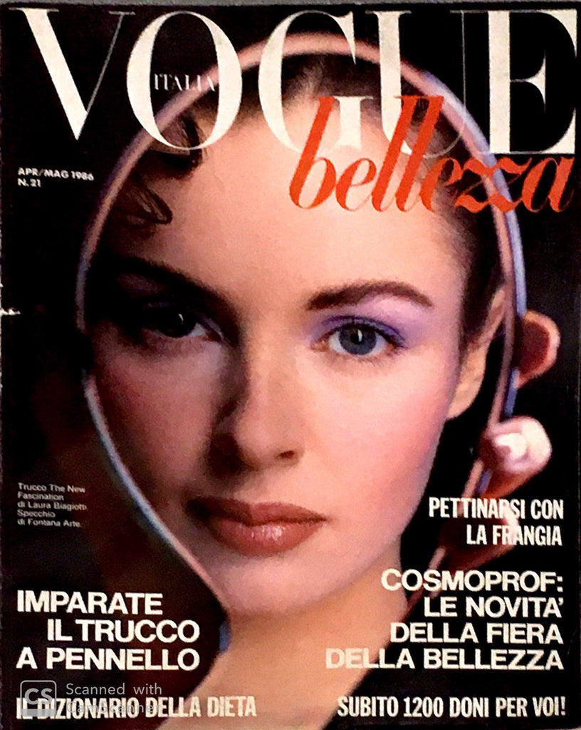 VOGUE Italia BELLEZZA Magazine April 1986 TYEN TYBO Mariel Hemingway CARLA FRACCI