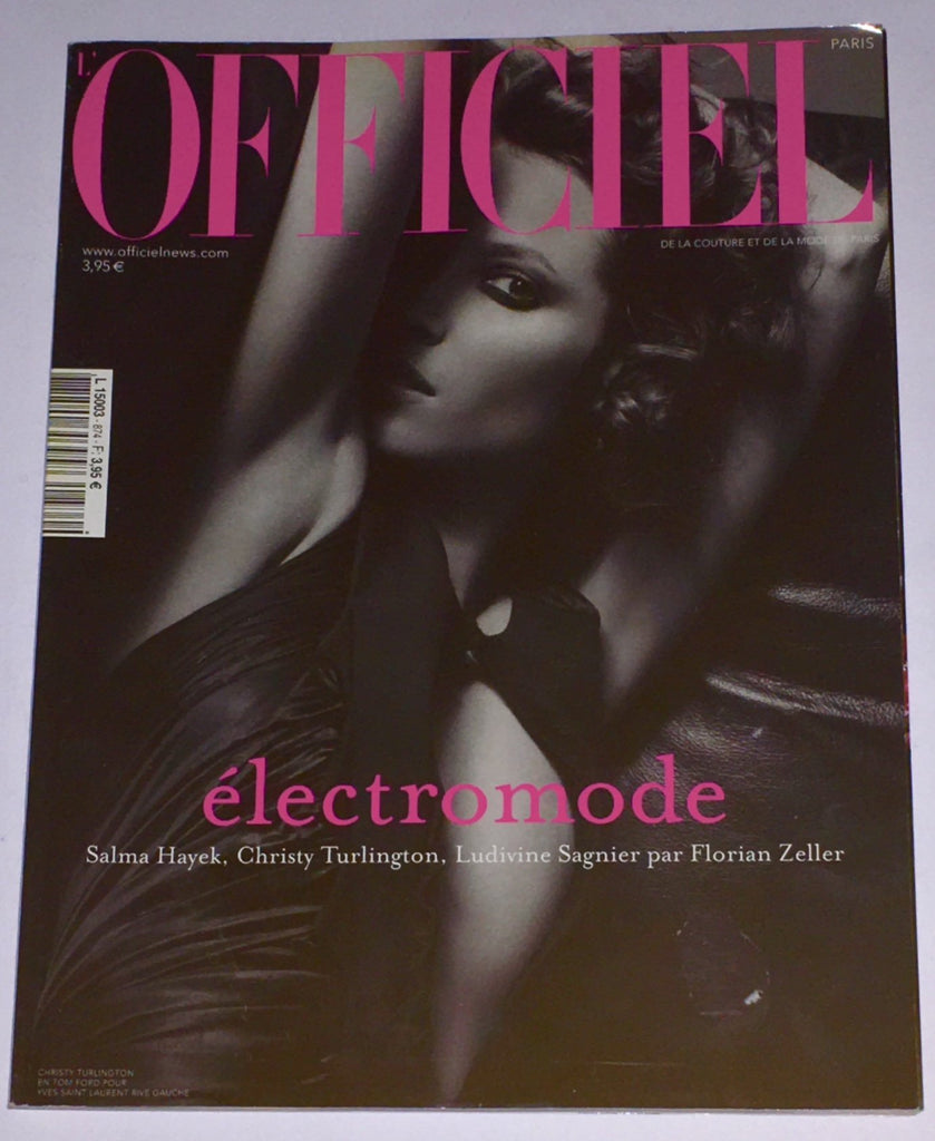 L'OFFICIEL Paris Magazine April 2003 CHRISTY TURLINGTON Chloe Winkel LUDIVINE SAGNIER